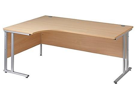 Ergonómico 1800 mm de la mano izquierda de escritorio mesa de ordenador de esquina