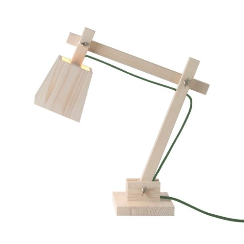 WOOD LAMP Schreibtischleuchte Kabel Grün muuto