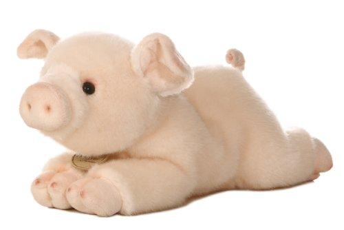 "Aurora World Miyoni Pig Plush, 11"""