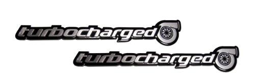 2 x (pair/Set) Turbo Turbocharged Aluminum Emblems Badges for Honda Civic Si Acura NSX TSX RDX RSX Type-S Subaru Impreza WRX Mazda Mazdaspeed 3 6 Nissan Sentra SER 300ZX 350Z Datsun 280ZX 280Z (Turbocharged Decal compare prices)