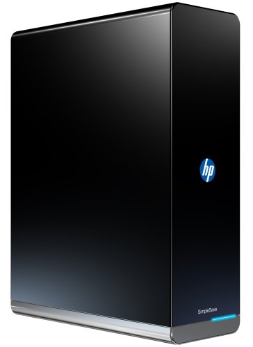 HP SimpleSave 1 TB USB 2.0 Desktop External Hard Drive