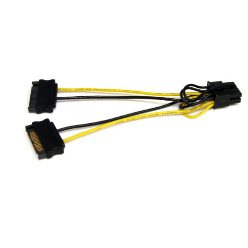 STARTECH.COM SATPCIEX8ADP 6in SATA Power to 8 Pin PCI Expres