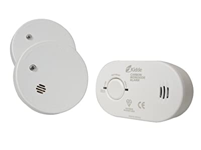 Kidde KSCO2SA Twin Smoke Alarm & Carbon Monoxide Alarm Pack from Kidde