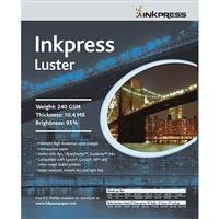 Inkpress Luster Premium Single Sided Bright Resin Coated Photograde Inkjet Paper, 10.4mil., 240gsm., 4x6