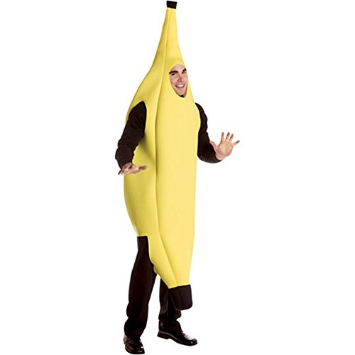 Deluxe Banana Adult Costume - One Size