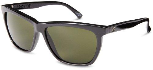Electric Watts Es11901620 Square Sunglasses,Gloss Black,58 Mm