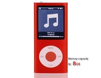 Statistics For 8Gb 2.2 Lcd Screen Mp4 Player Containing 0.3M Camera (Red)