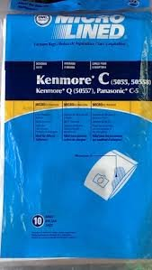 18 Vacuum Cleaner Bags for Sears Kenmore 5055 50557 50558 Panasonic C-5 C5 C Q (Dvc Vacuum Cleaner Bags compare prices)