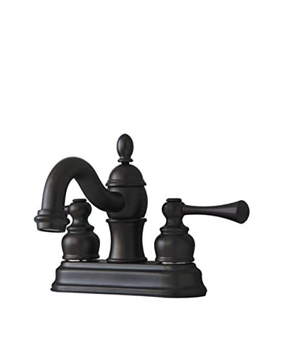 Kingston Brass Lavatory Faucet With Brass/Abs Pop-Up, Oil Rubbed Bronze