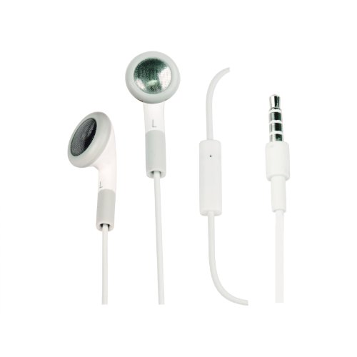 Znu Earbuds Earphones Headphones Headset W/ Mic For Iphone 4 4S 3Gs 3G I Pod Touch Nano Headphones