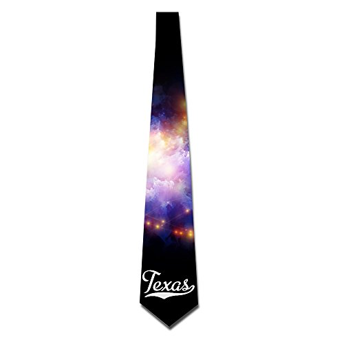 HANDSOMEFEEL Word Of Texas Neck Suits Tie Skinny Tie