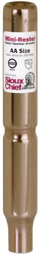 Sioux Chief Mfg 660-S 1/2-Inch Male Sweat Mini Rester Residential Water Hammer Arrester