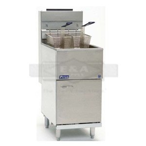 Pitco 45 lb Fryer Model 40D Natural Gas
