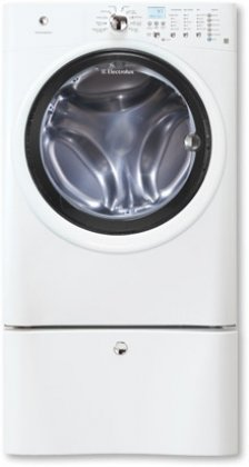 Electrolux EIFLW50LIW IQ-Touch 4.2 Cu. Ft. White Stackable Front Load Washer - Energy Star