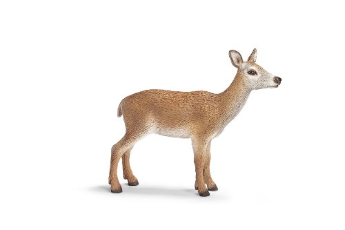 Schleich Red Deer Cow Toy Figure - 1