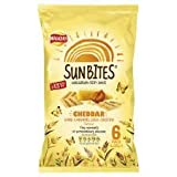 Walkers Sunbites Cheddar & Caramelised Onion Crisps 6 X 25G