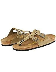 Birkenstock Sparta Antique Khaki Leather 42 N by Birkenstock