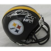 Rod Woodson Signed Autograph Pittsburgh Steelers Mini Helmet Authentic Certified Coa
