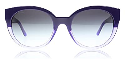 Versace 4294 51498G Violet Transparent Violet 4294 Cats Eyes Sunglasses Lens Ca