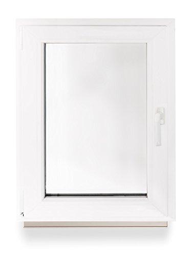 Kellerfenster kunststoff fenster dreh kipp 60 x 80 cm for Fenster 80 x 60