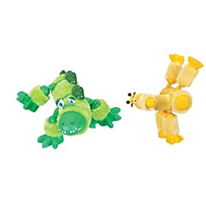 Kid Galaxy Tubeez Giraffe & Alligator Set