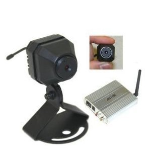Mini Wireless Full Motion Color Camera w/Super Slim Receiver