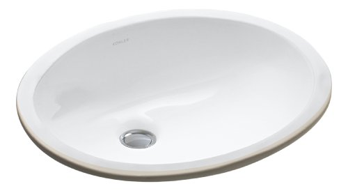 Best Review Of KOHLER K-2209-0 Caxton Undercounter Lavatory, White