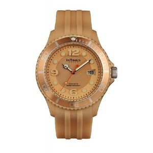腕時計 Intimes Big Size 100M W-r Beige Color Men\'s Watch IT-090 [並行輸入品]
