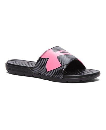Under Armour Women's UA Strike Breeze Sandals 8 Black