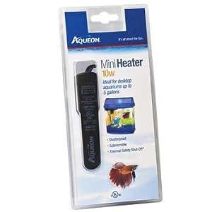Aqueon AQE06194 Mini Heater for Aquarium, 10-watt