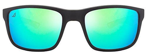 Vincent Chase VC 5188 Matte Black Blue Green Mirror C16 Sunglasses (103763)