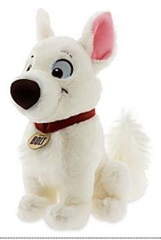 Disney Bolt Movie 14 Inch Deluxe Plush Figure Bolt
