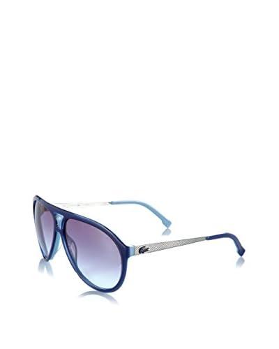 Lacoste Gafas de Sol L694S Azul / Plateado