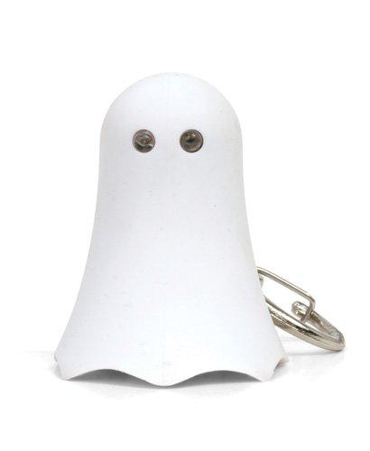 Kikkerland KRL13TC Ghost LED Keychain with Sound
