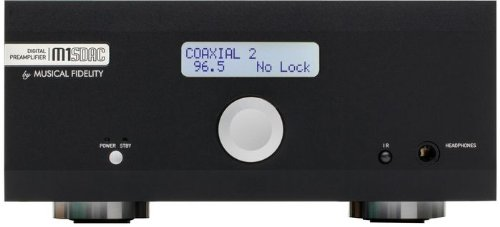 Musical Fidelity M1Sdac High-Performance 32-Bit Dac, Adc, Preamplifier And Headphone Amplifier (Black)