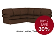 Charlotte Corner Sofa - Leather