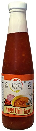 Nep's Sweet Chili Sauce - 10.5 Fl. Oz - Made From Most Flavorful Chilli's - No MSG, Certified Kosher - Traditional Thai Recipe - Natural Earth Products (1 Pack) (Sweet Chili Thai Sauce compare prices)