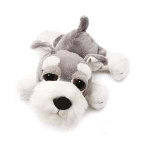 Russ Berrie Li'l Peepers Klaus Schnauzer Dog Plush (5in / 13cm)