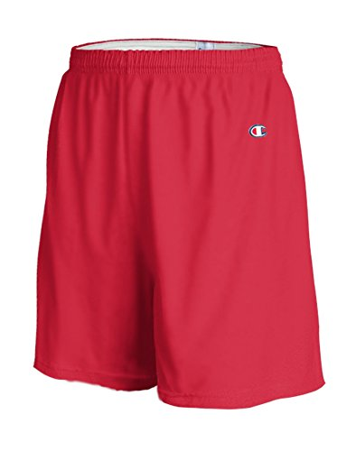 Champion Men's  6-Inch Scarlet   Cotton Jersey Shorts - XX-Large Casual Shorts