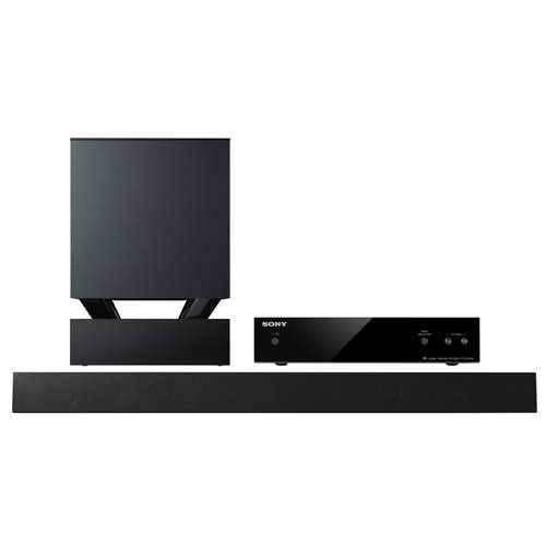 Sony 400 Watt 3D Sound Bar Home Theater System With Wireless Subwoofer