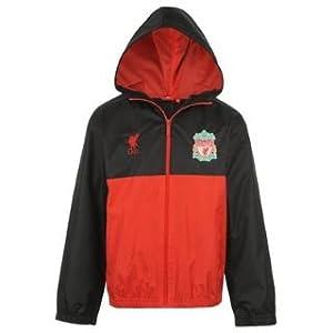 Source Lab Liverpool FC Shower Jacket Junior Black 12-13(XLB)