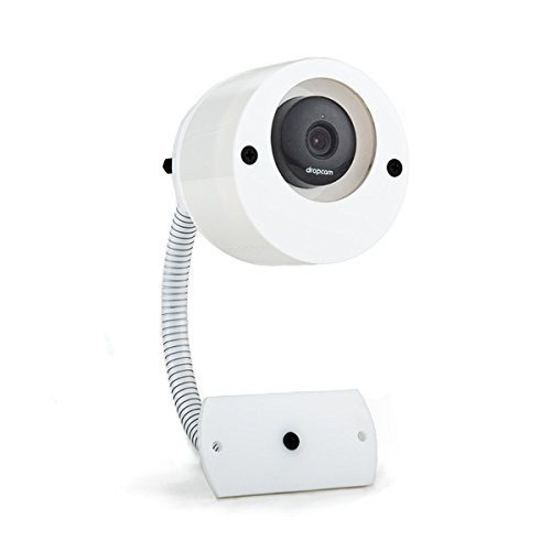 Nest Cam & Dropcam Pro Complete Outdoor Mounting Set - includes both Weatherproof Camera Case & Gooseneck Mount Bundle in White - 100% Night Vision & Flexible 360° Degrees Angle Positioning (Dropcam Pro Outdoor compare prices)
