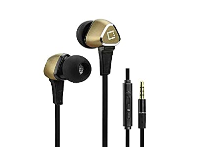 Huawei Nexus 6P Stereo Earphones With Hands Free Microphone And Multifunction Button Gold