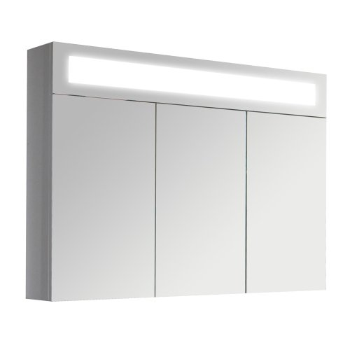 3D-Spiegelschrank-Wandspiegel-Badschrank-inkl-LED-Beleuchtung-90cm