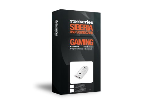 Steelseries Siberia Usb Sound Card (White)