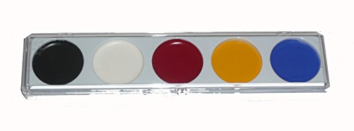 5 Color Water Base Make Up Palette Clown College Make Up 405