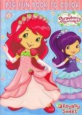 Strawberry shortcake big fun book to color