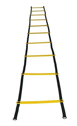 Sveltus 2750-Scala per esercizi di agilità, colore: giallo/nero