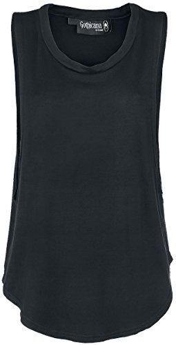 Gothicana by EMP Gothic Tank Top donna nero L