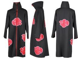 NARUTO-Naruto fan must-see Akatsuki cloak cosplay costume L ~ XL